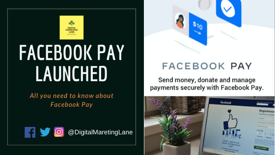 Facebook Pay App payment details and overview of payment