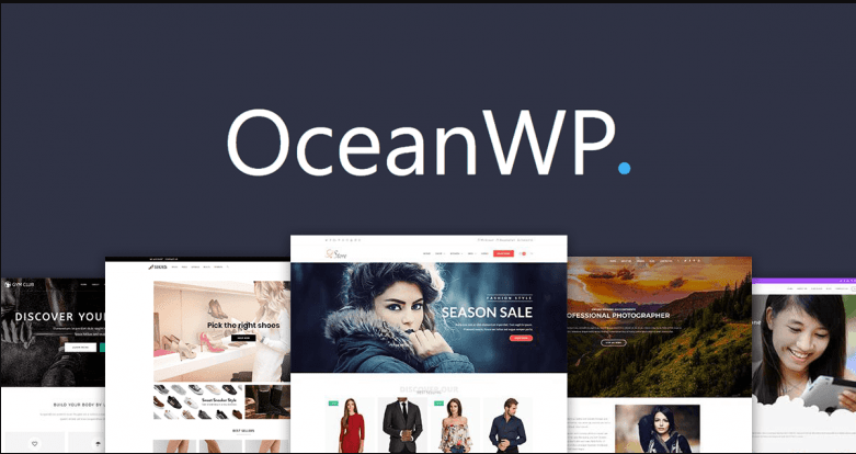 Design landing-page-for-wordpress-site-using-elementor using Ocean WP Theme