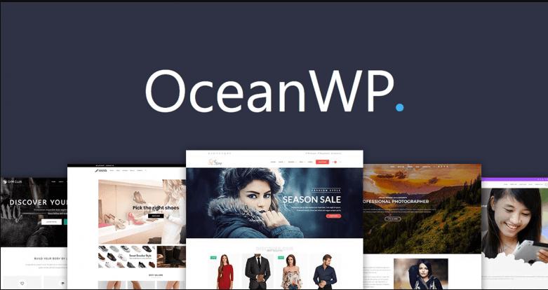 Design landing-page-for-wordpress-site-using-elementor using Ocean WP Theme