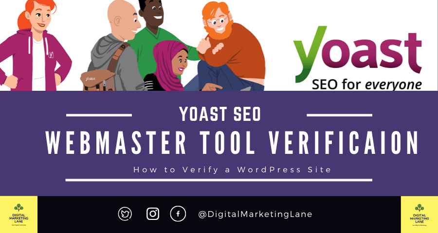 Yoast SEO Webmaster Tools Verification