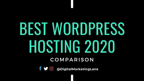 Best WordPress hosting Plan Comparison