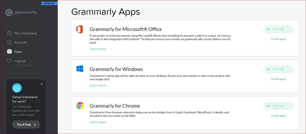 How to use Grammarly?