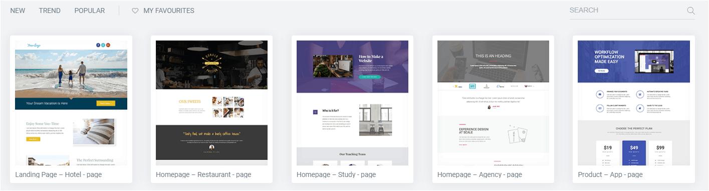 Elementor Templates Free Landing Page