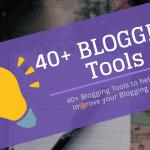 Blogging Tools Resources