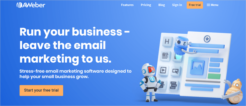 Aweber Best Email marketing Software