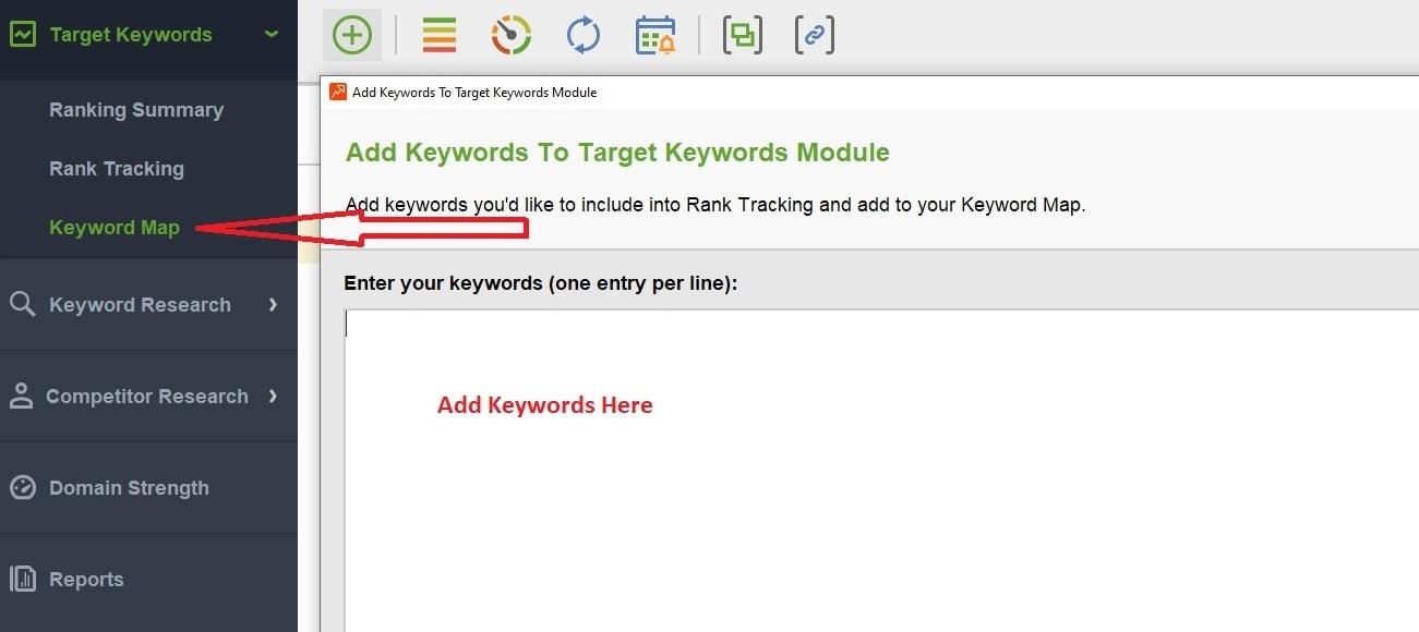 Rank Tracker tool of Seo PowerSuite
