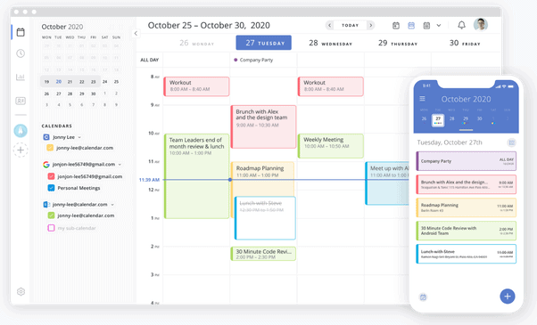 Calendar free productivity apps