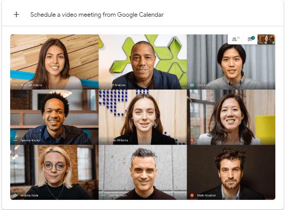 Google Meet free productivity apps