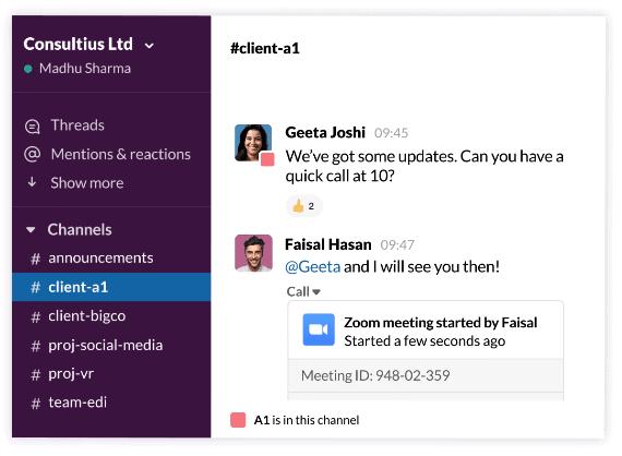 slack free productivity apps