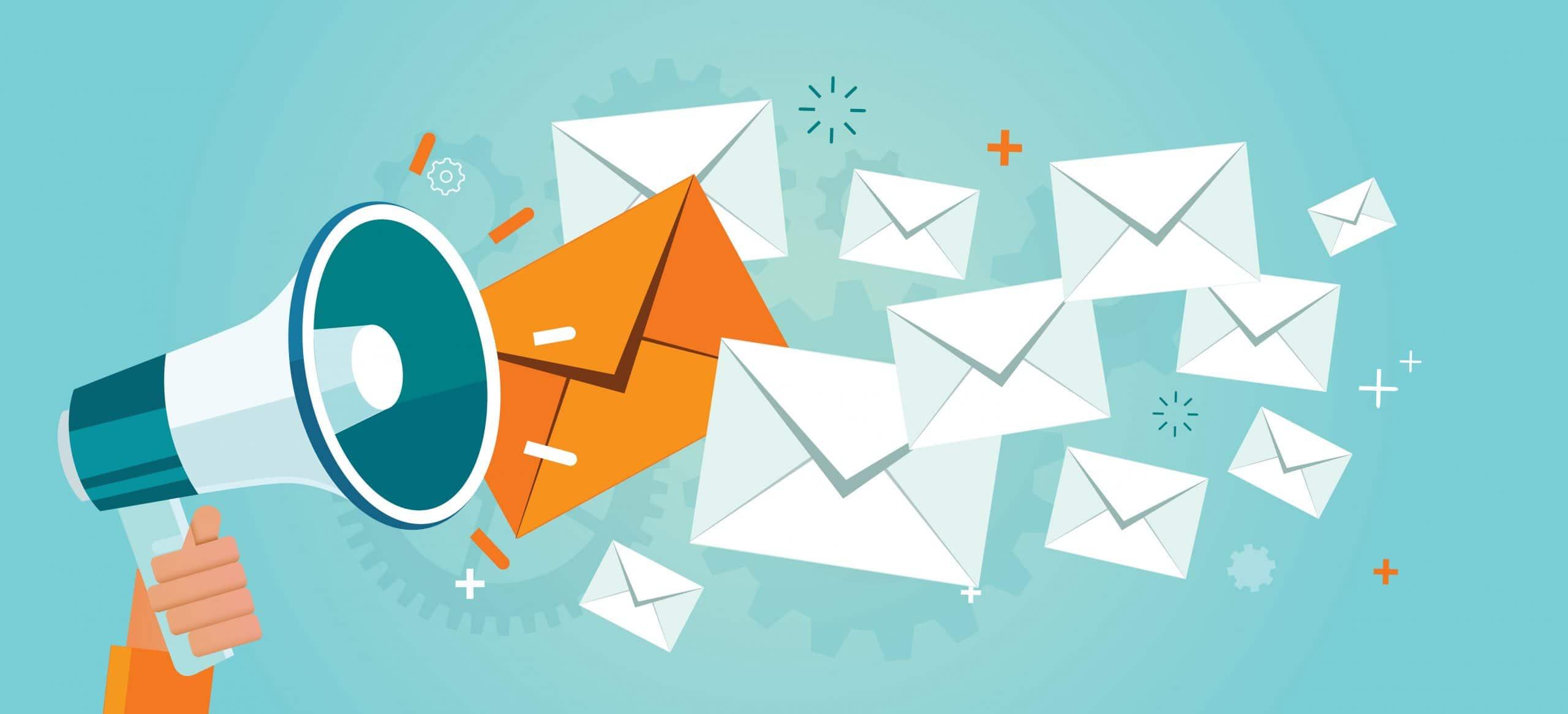 Advertisement using Email marketing Software Platform