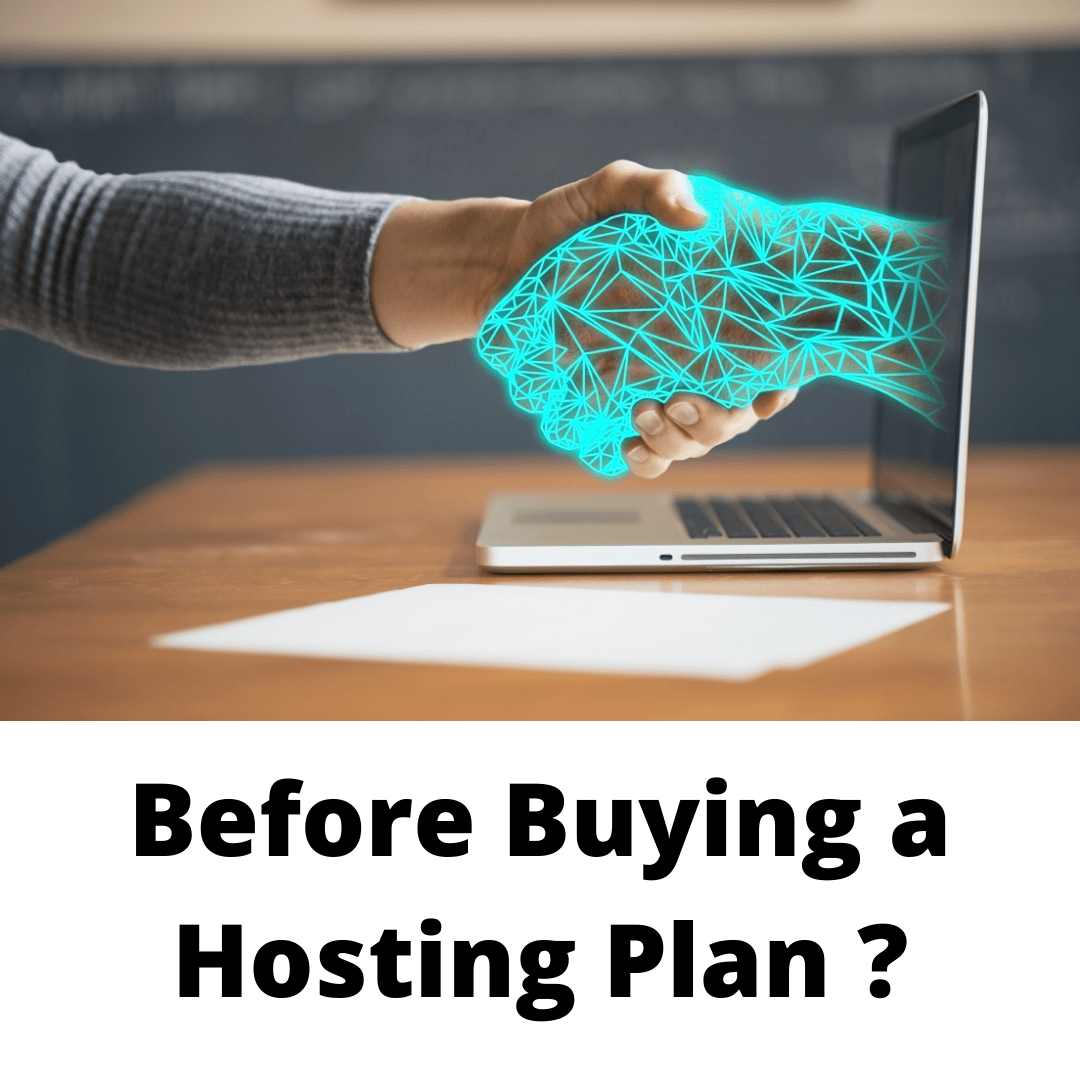 Buying a Hosting Plan