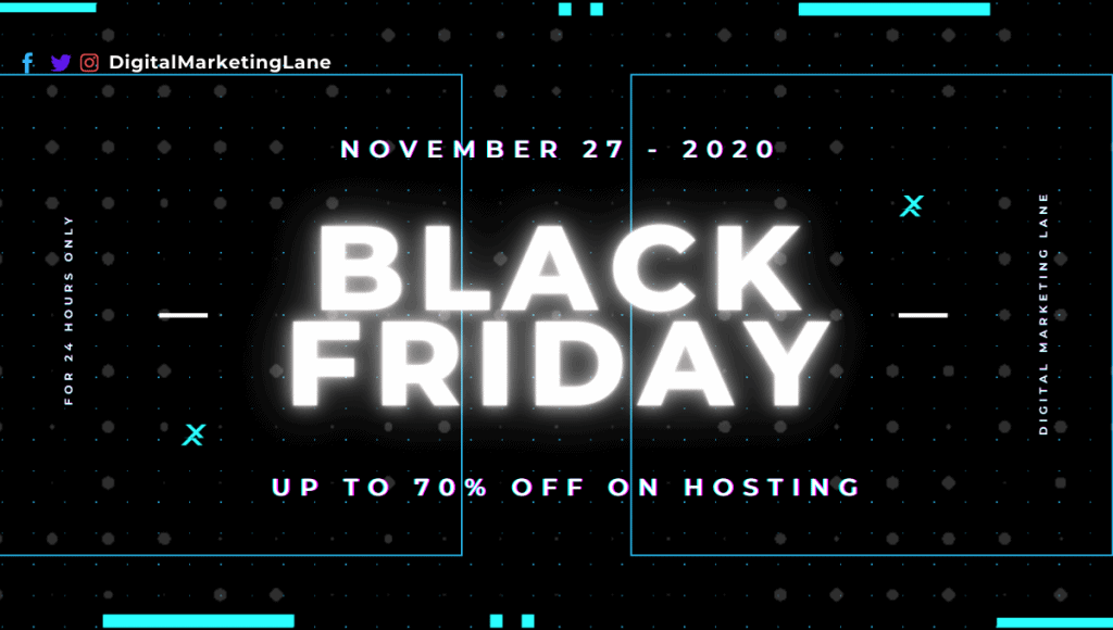 Black Friday Web Hosting