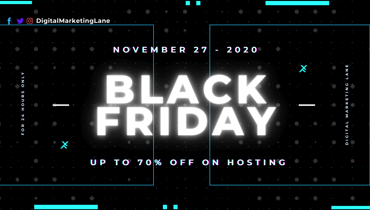 Black Friday Web Hosting
