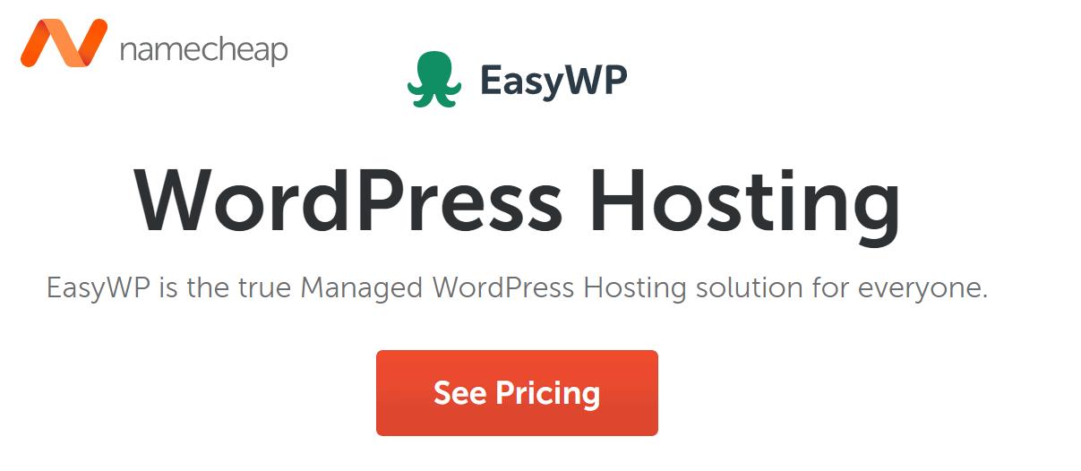 Name Cheap WordPress Hosting