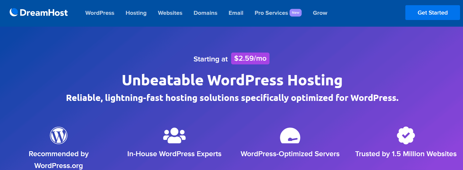 Dreamhost Cheap WordPress Hosting