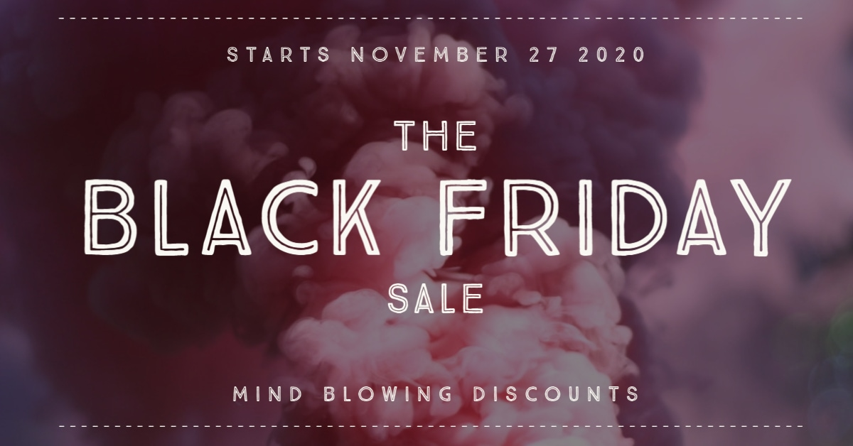 Black Friday Sale Begins November 27 2020
