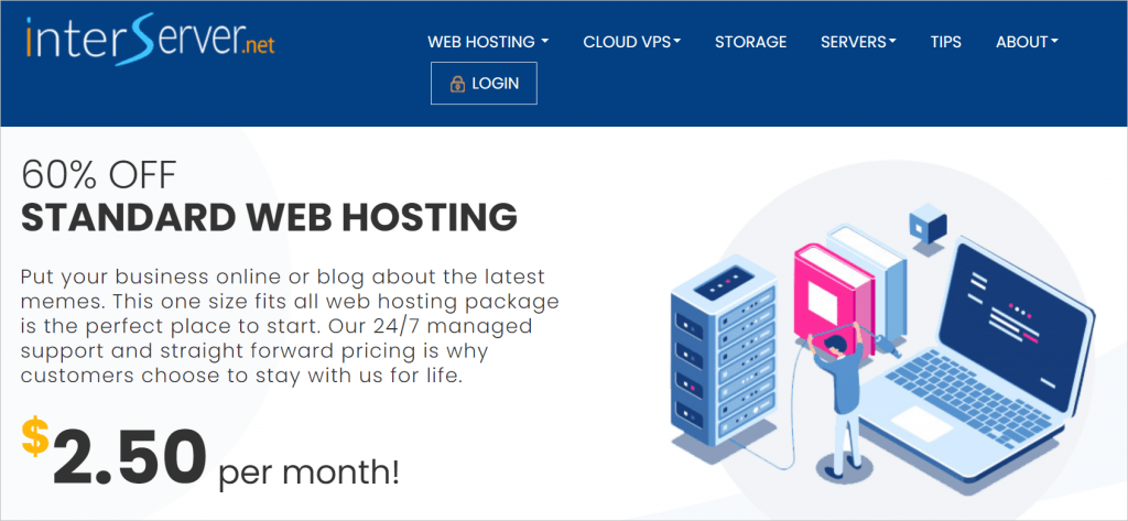 Interserver Shared Web Hosting
