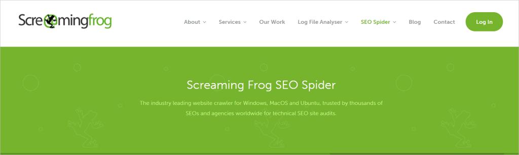 Screaming Frog Cheap SEO Tool