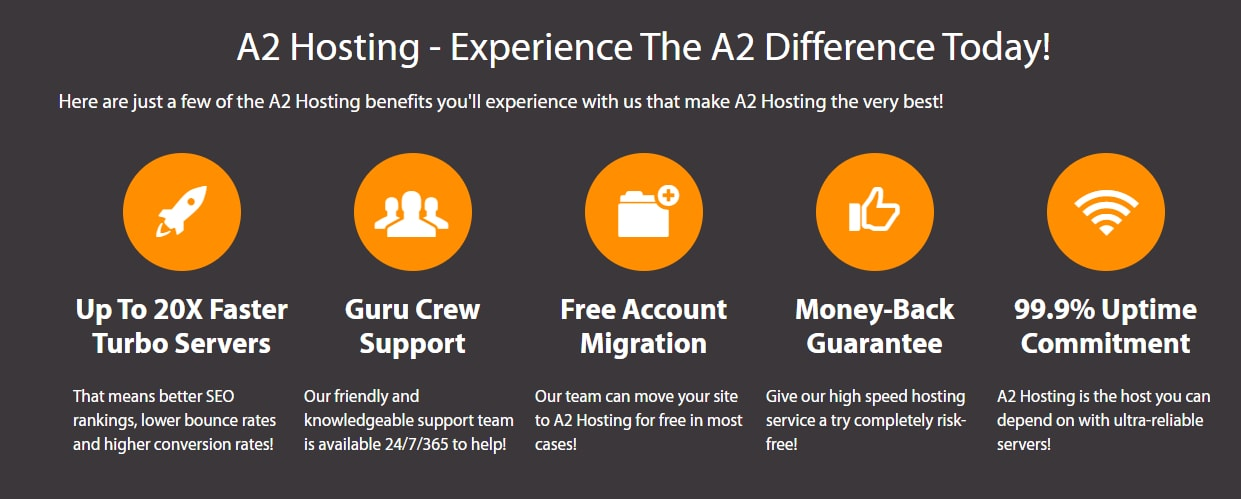 A2 hosting reviews and features