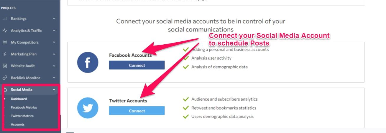 SE Ranking Social Media