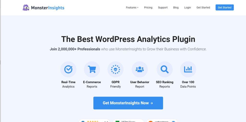 WordPress Plugin for Analytics